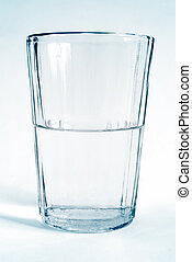 waterglas, transparant, kop