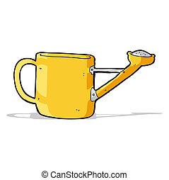 watering can cartoon