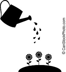 watering can - vector watering can