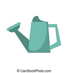 watering can garden tool image vector illustration eps 10