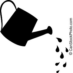 watering can - vector watering can icon