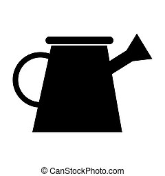 watering can isolated icon
