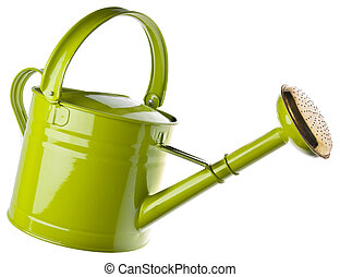 Watering Can - Watering can isolated on white.