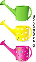 watering può, colorito