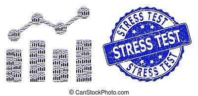 watermark, コラージュ, ラウンド, 傾向, チャート, テスト, ストレス, recursion, アイコン, 傷付けられる