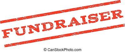 watermark, estampilla, fundraiser