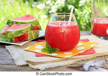 watermeloen, drank