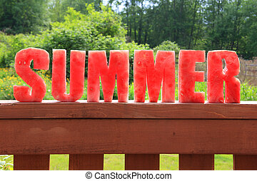 watermeloen, zomer