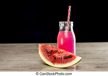 Watermelon cold refreshment
