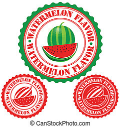 Watermelon flavor stamp