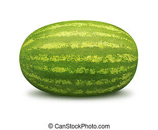Watermelon isolated on a white background