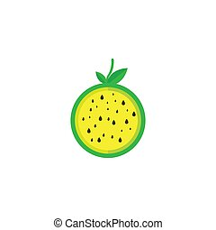 watermelon logo template