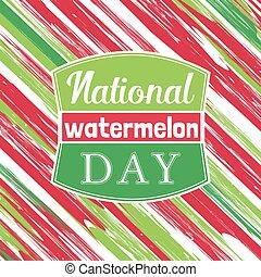 Watermelon poster concept