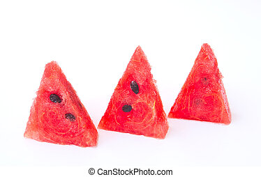 Watermelon slice isolated