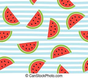 watermelon slices - vector watermelon slices