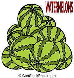 Watermelon Stack