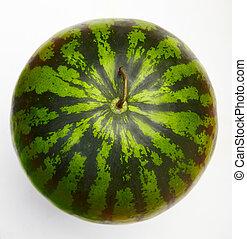 Watermelon top view