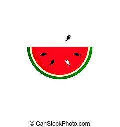 Watermelon Vector Illustration
