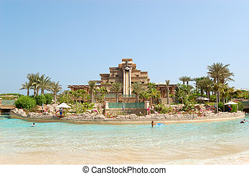 Waterpark of Atlantis the Palm hotel, Dubai, UAE - Waterpark...