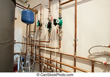 waterpipes, ind, basement
