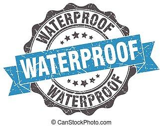 waterproof stamp. sign. seal