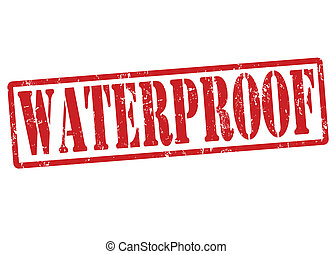 Waterproof stamp