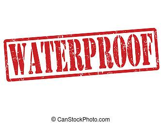 Waterproof stamp