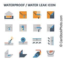 waterproofing water leak - Waterproofing and water leak...