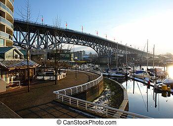 Burrard Bridge in Vancouver, BC