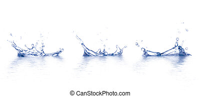 Watertrops - Water is splashing. Use it for concepts.