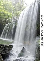 waterval, samenstelling, verticaal