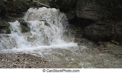watervallen, in, crimea