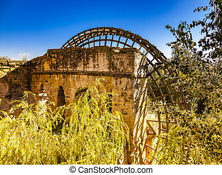 Waterwheel Cordoba - Ancient waterwheel in the Gaudalquivir...