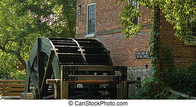 waterwheel - Grau Mill waterwheel