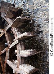 Waterwheel - Old water wheel at mill