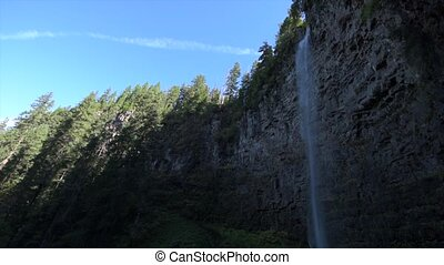 Watson Falls Oregon - Watson Falls Clearwater River Douglas...