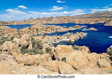 Watson Lake, Prescott Arizona - beautiful granite rock ...