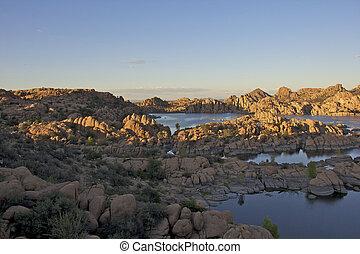 Watson lake Prescott Arizona Scenic - a scenic landscape of ...