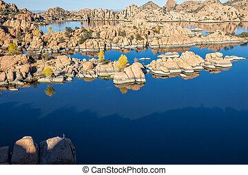 Watson Lake Prescott Arizona - scenic watson lake prescott ...