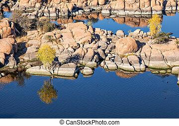 Watson Lake Prescott Arizona - scenic watson lake prescott...