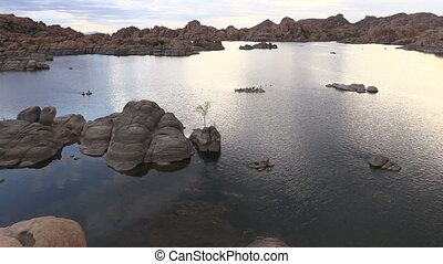 Watson Lake Prescott Arizona - the scenic landscape of...