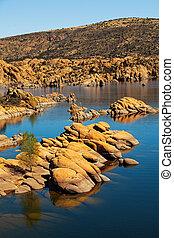 Watson Lake - Prescott AZ USA - Scenic view of Watson Lake ...