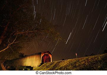 Watson Mill Covered Bridge - The historic Watson Mill...