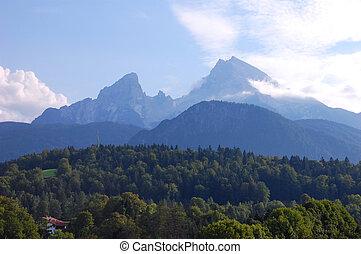 Watzmann - Watmann near Berchtesgaden. The third highest...