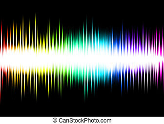 Wave Abstract Background colorful