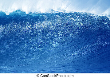 Wave abstract background concept