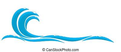 wave., azul