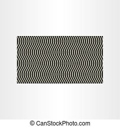 wave background design vector