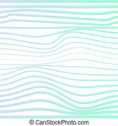Wave distorted texture of color gradation. Abstract ...