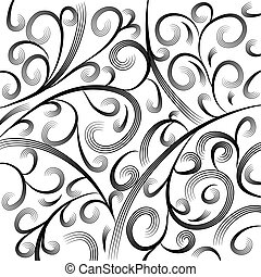 Wave Engraving Background